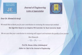 Academic staff member receives an appreciation